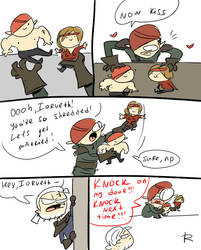 The Witcher 2, doodles 11 by Ayej