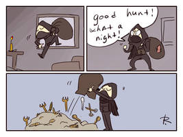 Thief 2014, doodles 6 by Ayej