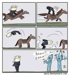 The Witcher 3, doodles 344 by Ayej