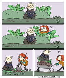The Witcher 3, doodles 345 by Ayej