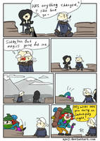 The Witcher 3, doodles 355 by Ayej