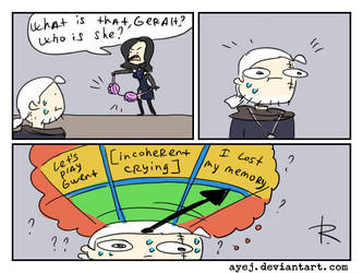 The Witcher 3, doodles 358 by Ayej