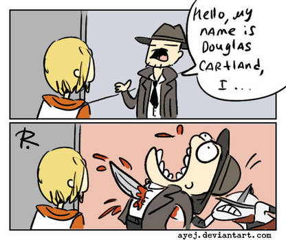 Silent Hill, doodles 22 by Ayej
