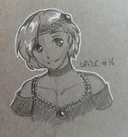 Bimbi pencil sketch by sarahyt