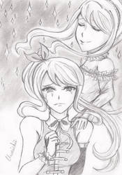 Lucy and Layla ~ Always by your side by Kirichii-Art