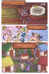 animal crossing zine pg 1 by succulentsoup