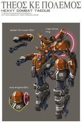 Heavy Combat Taedus Clean by Nidaram