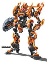 Movie Autobot Sledgehammer by Nidaram