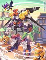 Mega Man Tribute: TENGU MAN by Nidaram