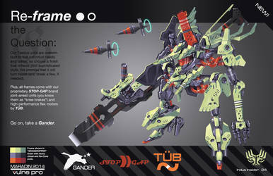 THEOS Custom Combat Taedus 02: Grasshopper Frame by Nidaram