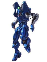 Evangelion Unit 00 by Nidaram