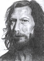 Gary Oldman as Sirius Black by Lady-CaT