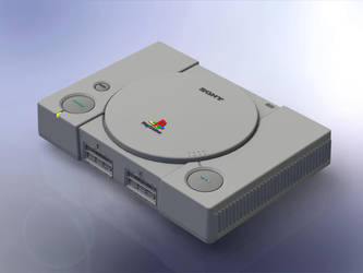 1:5 Scale Sony Playstation by DrOctoroc