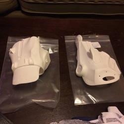 Edward Scissorhands 3D Printed Hand Plates by DrOctoroc