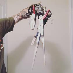 Edward Scissorhands Finished Left Hand by DrOctoroc