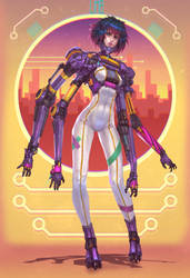 LIMB-05: Neon by Brobossa