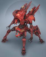 Red Machine by Brobossa