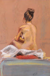 pastel 45 minute study by HILLYMINNE