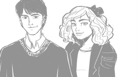 Frank and Alice Longbottom by HILLYMINNE