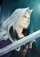 Dissidia - Sephiroth by Alivis