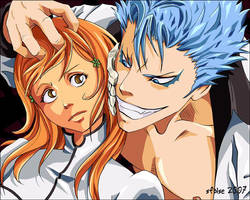 Grimmjow and ... Orihime? by telophase