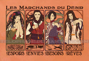 Les Marchands du Desir by telophase