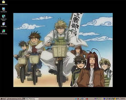 Current Desktop - Saiyuki by telophase