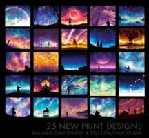 New prints in stock! by Erisiar