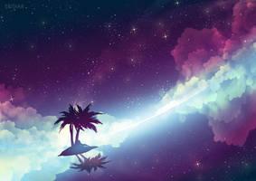 Palm Island by Erisiar