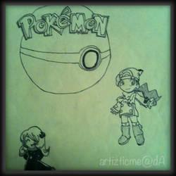Pokemon Chibi by ArtizticMe