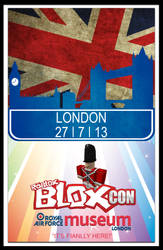 ROBLOX BLOXcon Poster Entry Lonodon by CitizenXCreation