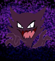 Haunter by pokemon-mafia-boss