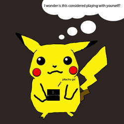 pikachu being dirty? by pokemon-mafia-boss