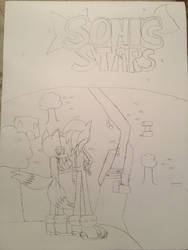 SKETCH: PROMOTIONAL ART: Sonic Stars by Roxas-The-Cat