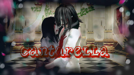 MMD Cantarella  Alice Liddell and Jeff the killer by Password-Valkyrie