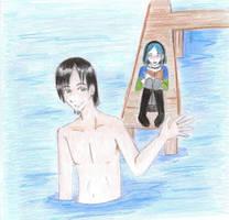 Hey beautiful whatcha sketchin by anime-tiger09