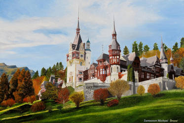Peles Castle by MSamsonov