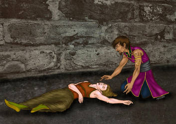 Cassian and Alathir by IngridBeast