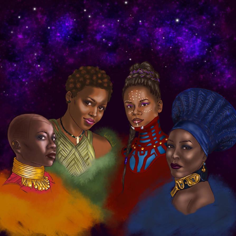 The Fierce Four by IngridBeast