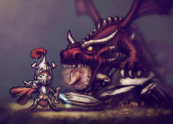 Dragon Knight - Update by AdanFlores
