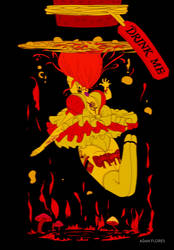 Alice in Wonderland ver2 by AdanFlores