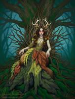 Forest Queen by Zanariya