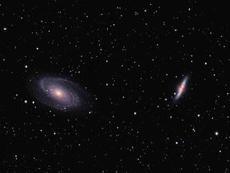 Northern Galaxies by DoomWillFindYou