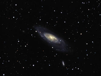 M106 - Spiral Galaxy by DoomWillFindYou