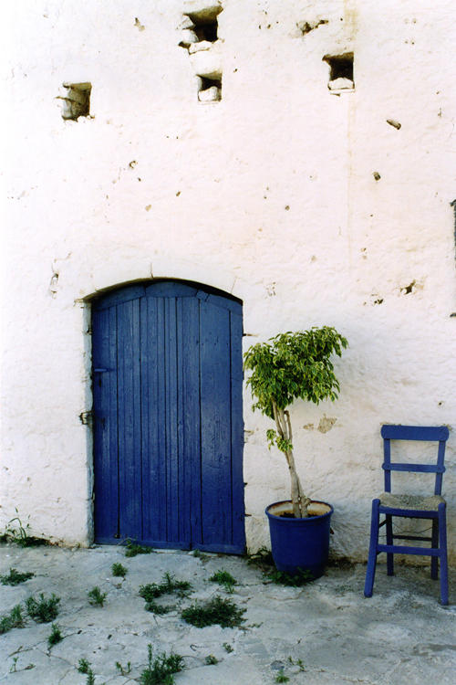 Where I sit when I feel blue by Jamabe