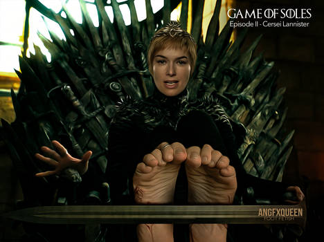 Cersei Lannister -  Lena Headey feet foot fetish by ANGFXQUEEN