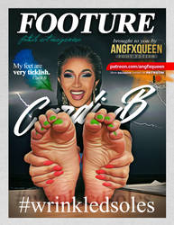 Cardi B - Footure - Foot fetish by ANGFXQUEEN
