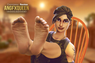 Ramirez feet - Fortnite by ANGFXQUEEN