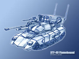 XTF-49 Flamehound by TheXHS