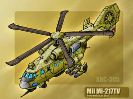 Mil-217TV - XHC-305 by TheXHS